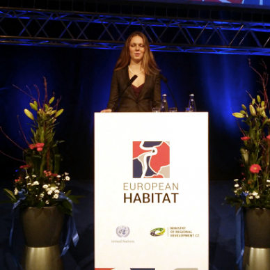 Moderování Europian Habitat